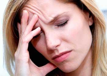 Головная боль в области лба и глаз причины лечение