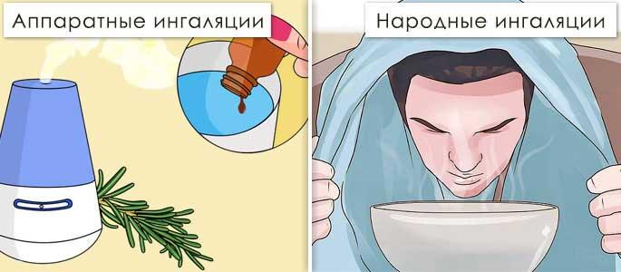 Ингаляции при гайморите