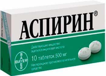 Ацетиловая кислота помогает от головной боли
