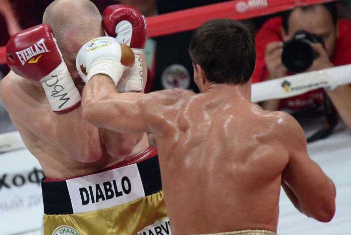 сотрясение мозга у боксеров