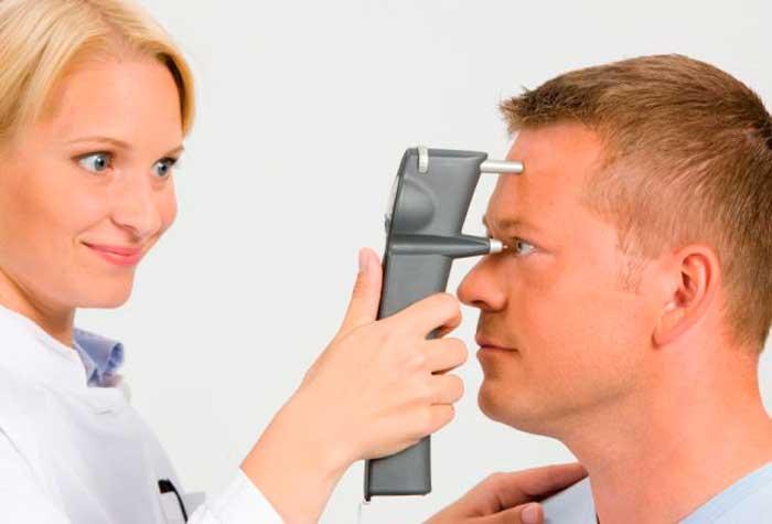 проверка внутриглазного давления