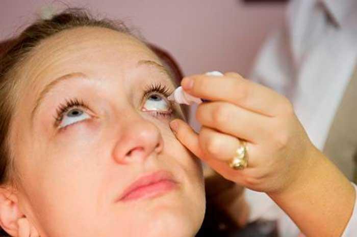 лечение глаз каплями