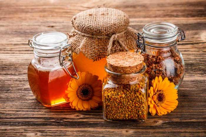 прополис и мед