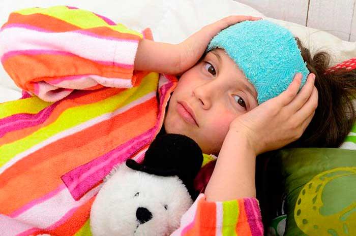 холодный компресс ребенку