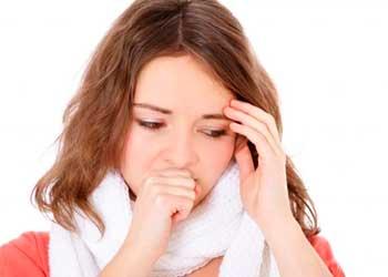 При кашле отдает в голову: причины и лечение