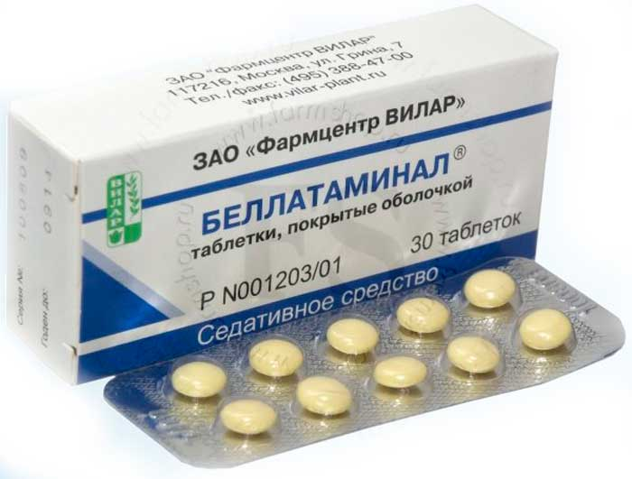 Беллатаминал-таблетки