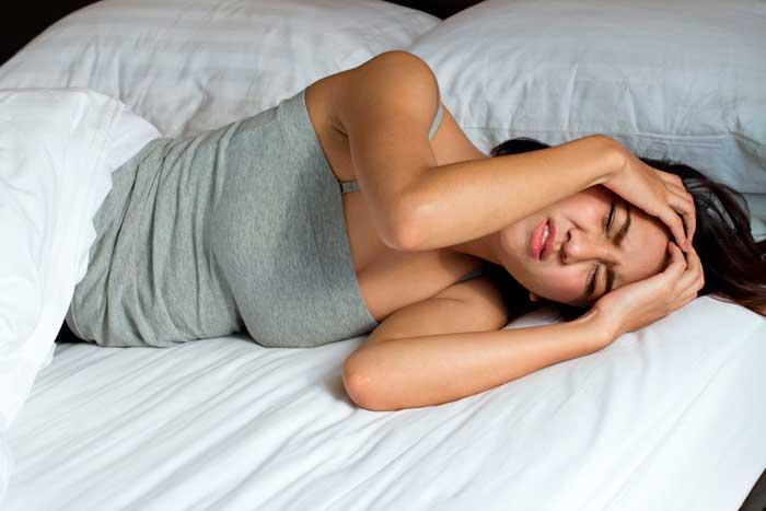 бессонница и приступы мигрени
