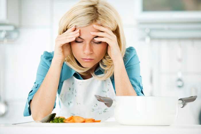 Сильная головная боль при голодании