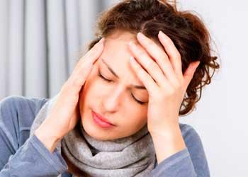 Сильные головные боли в висках и затылке