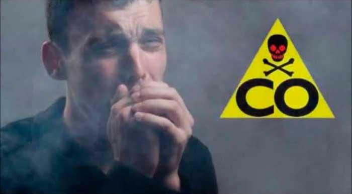 отравление дымом