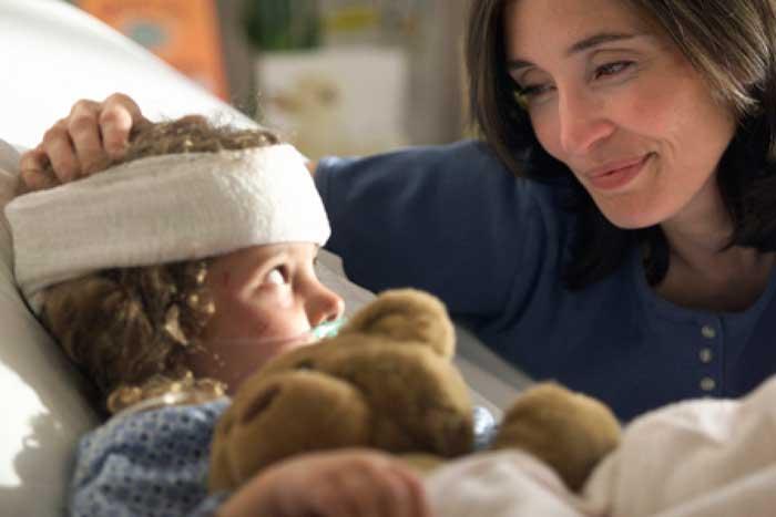 первая помощь ребенку при сотрясении мозга