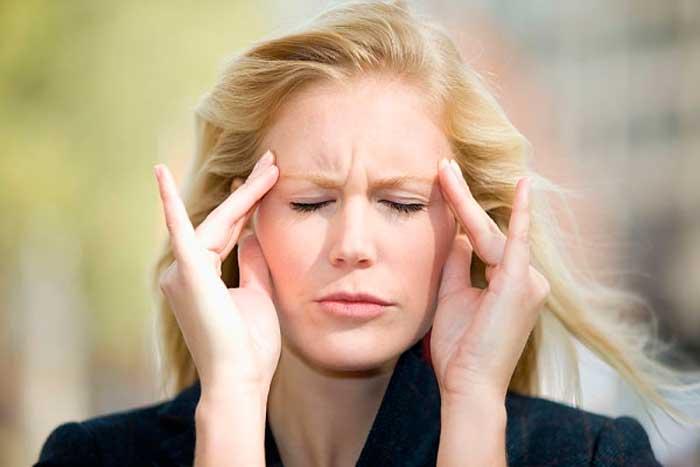 Симптомы мушки перед глазами головная боль