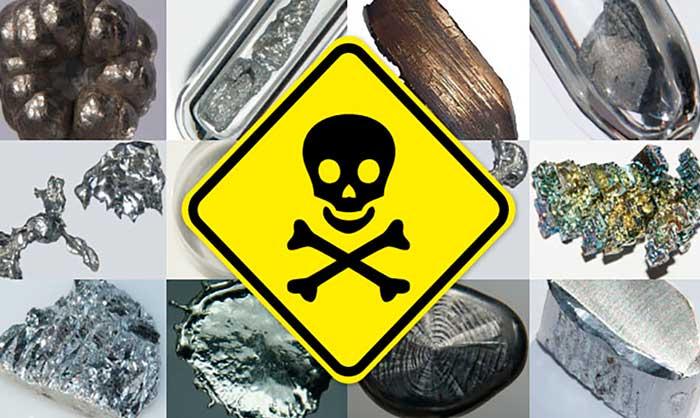 Отравления тяжелыми металлами