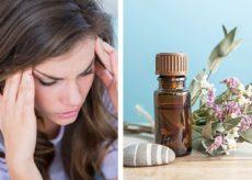 Эфирные масла от головной боли и мигрени